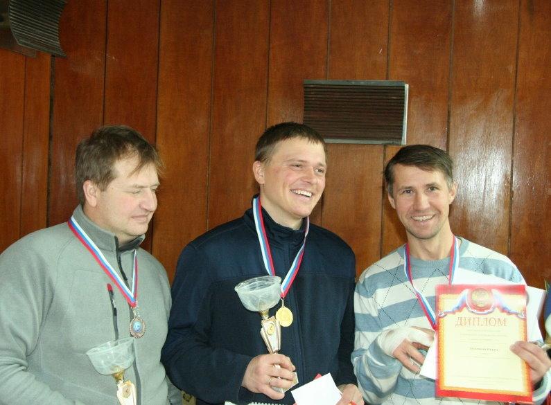 Победители Чемпионата России 2012 по зименму виндсерфингу