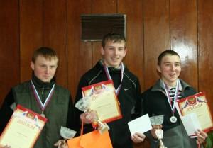 Победители первенства России 2012