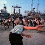 Тренировки морских пехотинцев по урокам знаменитого тренера.